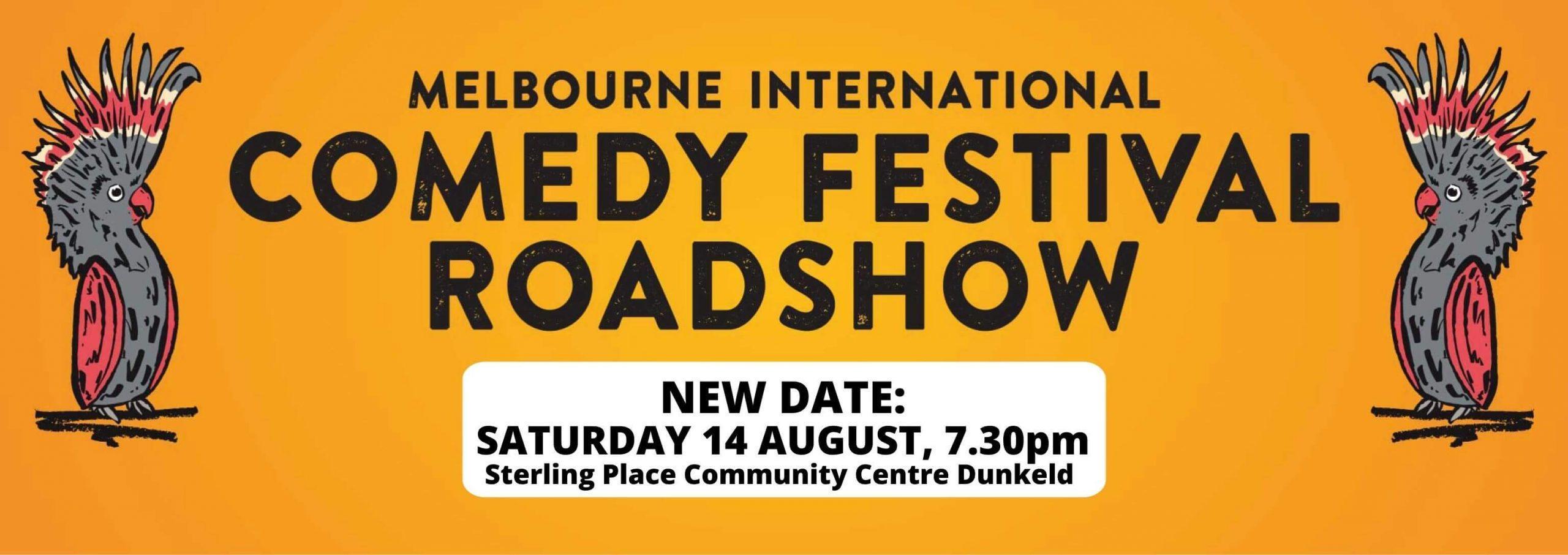 Comedy roadshow Dunkeld
